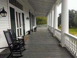 Plantation Estate House Porch