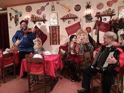 Violon, guitare, accordéon