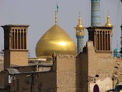 Shrine of Fatima Masoumeh in Qom (Golden dome)