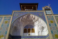 Shrine of Fatima Masoumeh in Qom (Clock tower)