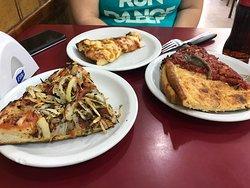 Excelente pizza