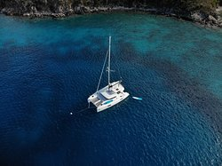 Great bareboat charter with The Catamaran Company.  Highly recommended.
