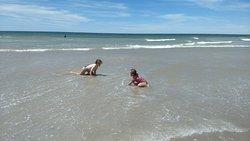 Una de las mejores playas de la Argentina.