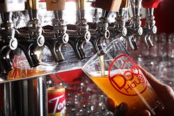CRAFT BEERS – a rotating selection of craft beers