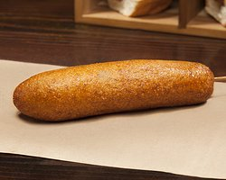 CORN DOG – haus made root beer batter