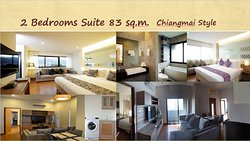 2 Bedroom Suite 83 sq.m. Chiang Mai Style