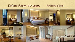 Deluxe room 40 sq.m.  Pottery style