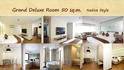 Grand Deluxe room 50 sq.m. Native style