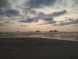 Beautiful sunset on koh Chang