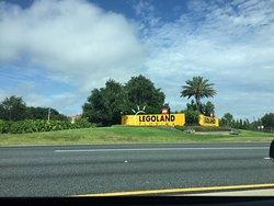 Llegando a Legoland Florida