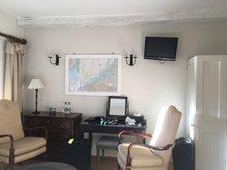 Tiny wall mounted TV