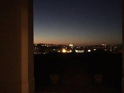 Stupende vedute serali dall'Istituto Nazionale di Studi Romani