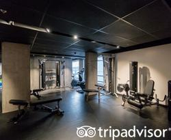 Fitness Center at the Hotel Monville