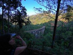 Ella nine arches trekking and train!