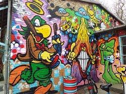 Christiania - Graffiti Art