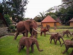 Amazing display of Afrikan Art