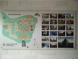the park's layout