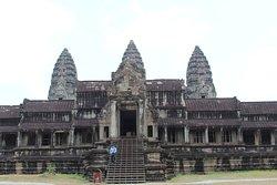 O templo de Angkor Wat