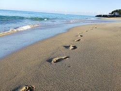 Левый пляж