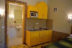 Kitchenette of Family studio suite