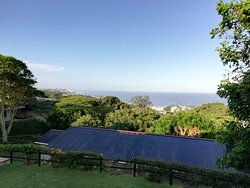 The view from Meander Manor , Shaka's Rock