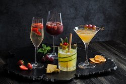 LUXE refreshing cocktails