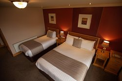 Guestrooms at the Lodge