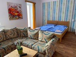 Pokoj Premium čtyřlůžkový premium s balkonem
