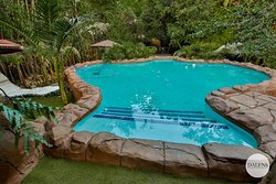 Dalens Self Catering Apartments. Tropical pool