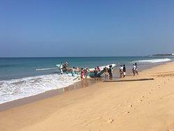 Helping the fishermen