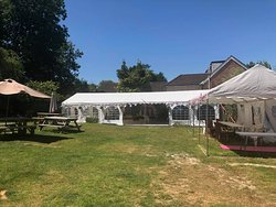 We have large marquees for hire.