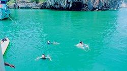 James Bond island trip. Nice program from sea angel Phuket pier.
