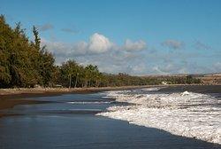 The ocean front at Waimea Plantation Cottages