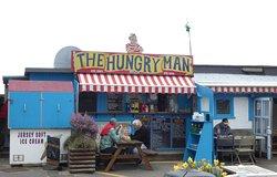 the Hungry man sur le port de Rozel