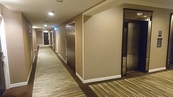 Lifts lobby at floor and rooms isle