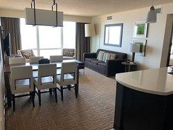 Oceanaire Resort Hotel - my front room in suite