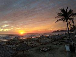 Sundowner am Strand