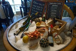 You can get beer, wine, and aquavit with the food.
