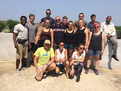 Unsere Gruppe - war super! Danke Beny! Our group just saying thank you to Beny, our guide!