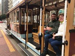 Nob Hill & Cable Car avec San Francisco by Gilles, San Francisco en français avec un guide local francophone.