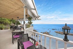 Seaview Restaurant,  the best view of Crystal Bay.