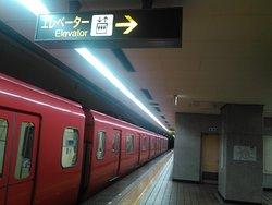 2019.3.27(水)🚇赤池駅🎵1・2番線ホーム🚇改札階・行きエレベーター⬆☺