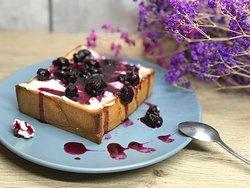 自制藍莓醬厚片