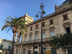 Paladsets vidunderlige facade