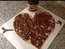 Nutella a cuore