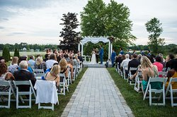 Wedding View from the Rideau River