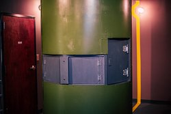 The inside of our live action adventure missile Silo — rescue an undercover agent and disarm the bomb before it hits DC.