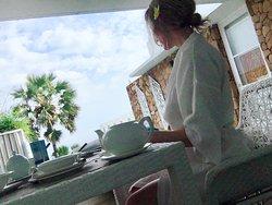 Private terrace - Ocean View Villa