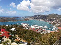 St Thomas from the top