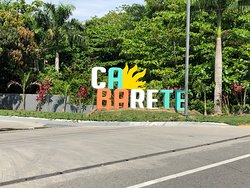 Cabarete Sign at the Gas Station